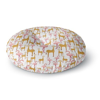 Alisa Drukman Summer Round Floor Pillow Size: 26 x 26
