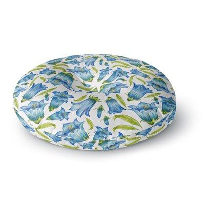Alisa Drukman Campanula Round Floor Pillow Size: 26 x 26