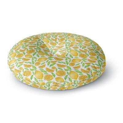 Alisa Drukman Lemons Round Floor Pillow Size: 26 x 26