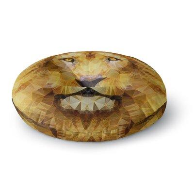Ancello Lion King Round Floor Pillow Size: 23 x 23
