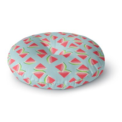 Afe Images Watermelon Slices Pattern Round Floor Pillow Size: 23 x 23