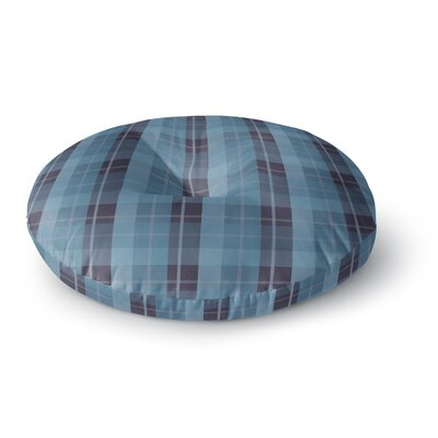 Afe Images Plaid Pattern II Round Floor Pillow Size: 26 x 26