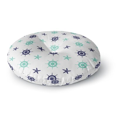 Afe Images Helm Wheel & Starfish Round Floor Pillow Size: 26 x 26