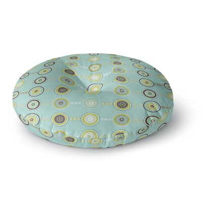 Afe Images Circle Pattern Round Floor Pillow Size: 23 x 23