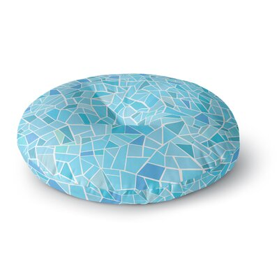 Afe Images Abstract Mosaic Pattern Round Floor Pillow Size: 23 x 23