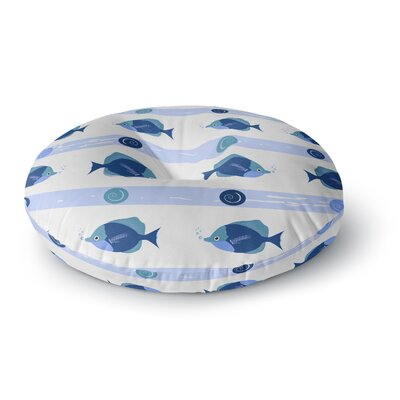 Afe Images Fish Round Floor Pillow Size: 26 x 26