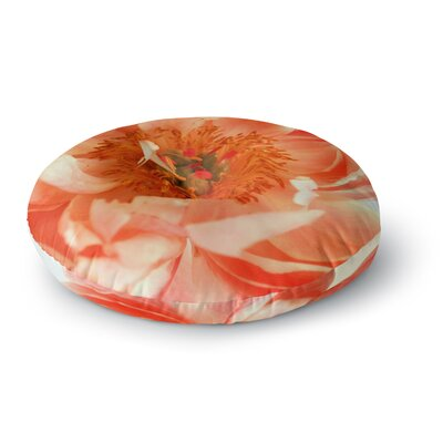Pellerina Design Blushing Peony Round Floor Pillow Size: 23 x 23