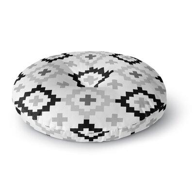 Pellerina Design Moroccan Geometric Round Floor Pillow Size: 26 x 26