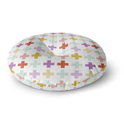 Pellerina Design Orchid Plus Round Floor Pillow Size: 26 x 26