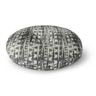 Amanda Lane Abstract Round Floor Pillow Size: 23 x 23