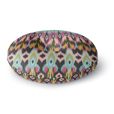 Amanda Lane Bohotribal Round Floor Pillow Size: 23 x 23