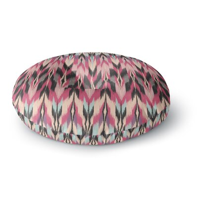 Amanda Lane Dreamhaze Tribal Round Floor Pillow Size: 26 x 26
