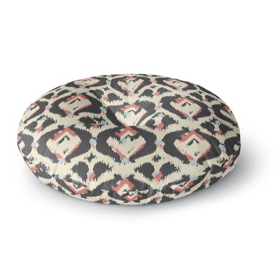 Amanda Lane Moonrise Abikat Round Floor Pillow Size: 26 x 26