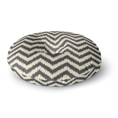 Amanda Lane Moonrise Diaikat Round Floor Pillow Size: 26 x 26