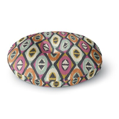Amanda Lane Sequoyah Diamonds Round Floor Pillow Size: 26 x 26