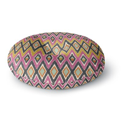 Amanda Lane Sequoyah Tribals Round Floor Pillow Size: 26 x 26