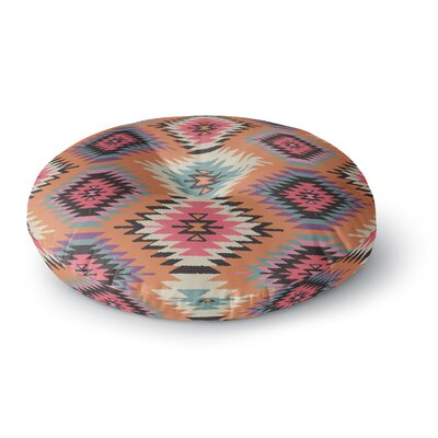 Amanda Lane Navajo Dreams Round Floor Pillow Size: 23 x 23