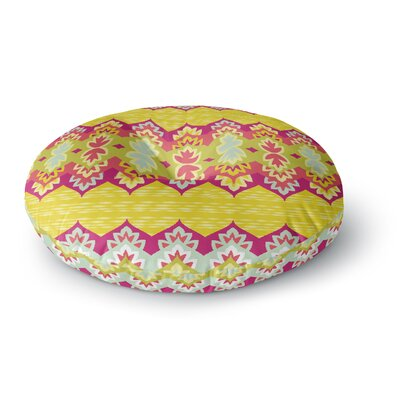 Amanda Lane Bohemia Round Floor Pillow Size: 23 x 23