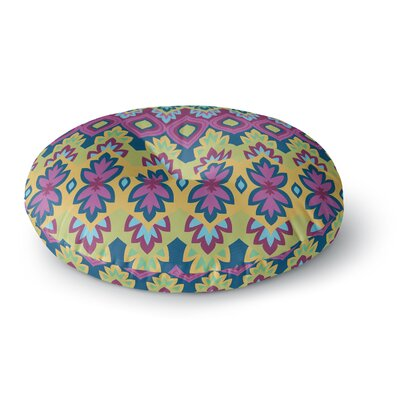 Amanda Lane Boho Chic Round Floor Pillow Size: 26 x 26