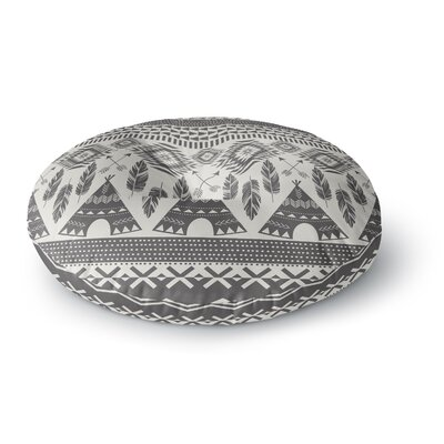 Amanda Lane Native Roots Round Floor Pillow Size: 26 x 26
