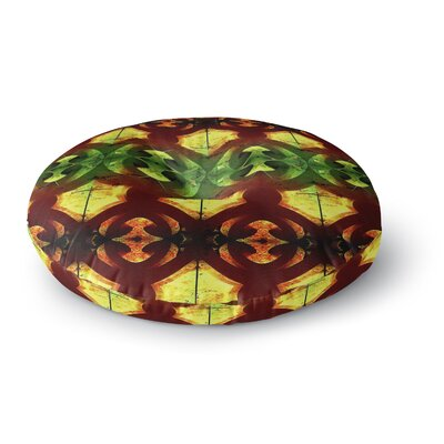 Anne LaBrie Tribal Marsala Round Floor Pillow Size: 23 x 23