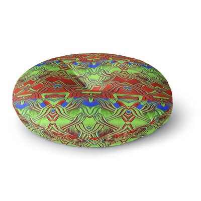 Anne LaBrie Mystic Flow Round Floor Pillow Size: 23 x 23