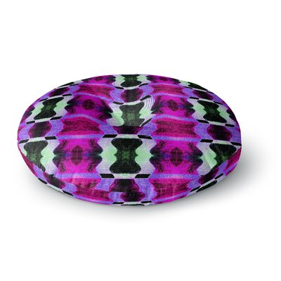 Anne LaBrie High Vibrations Magenta Round Floor Pillow Size: 26 x 26