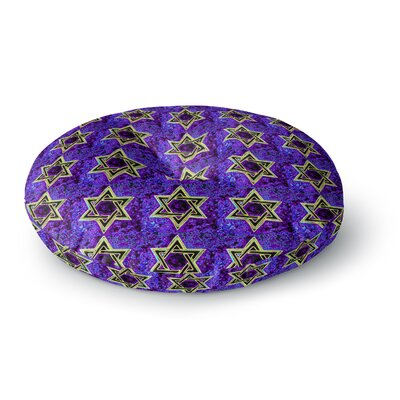 Anne LaBrie Davids Starry Sky! Pattern Round Floor Pillow Size: 26 x 26