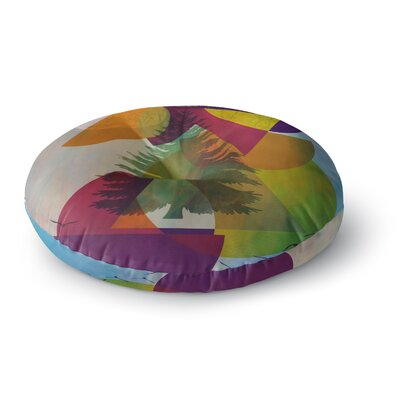 Alyzen Moonshadow Hidden Face Round Floor Pillow Size: 23 x 23