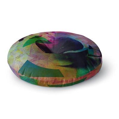 Alyzen Moonshadow Tea Birds Round Floor Pillow Size: 23 x 23