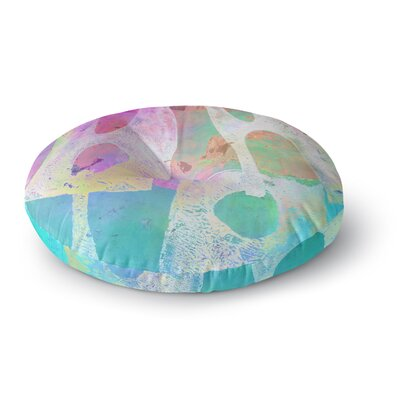 Alyzen Moonshadow Villi Round Floor Pillow Size: 26 x 26