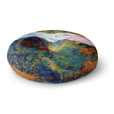 Alyzen Moonshadow Discover 3 Round Floor Pillow Size: 26 x 26
