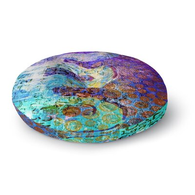 Alyzen Moonshadow Arcane 2 Round Floor Pillow Size: 23 x 23