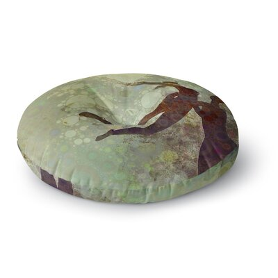 Alyzen Moonshadow Lift Round Floor Pillow Size: 26 x 26
