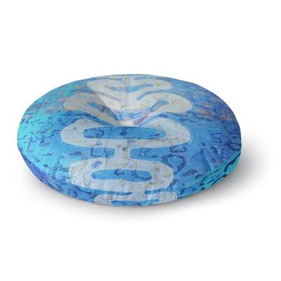 Alyzen Moonshadow Arcane 1 Abstract Round Floor Pillow Size: 26 x 26