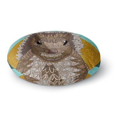 Art Love Passion Squirrel Round Floor Pillow Size: 26 x 26