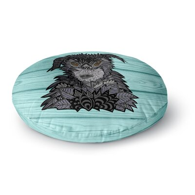 Art Love Passion Little Miss Daisy Round Floor Pillow Size: 26 x 26