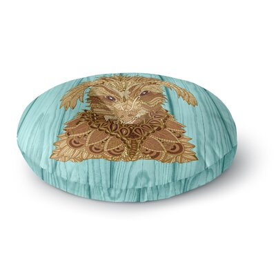 Art Love Passion Gatsby The Great Dog Round Floor Pillow Size: 23 x 23