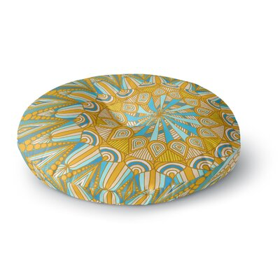 Art Love Passion Here Comes The Sun Round Floor Pillow Size: 23 x 23