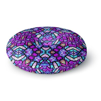 Art Love Passion Kaleidoscope Dream Continued Round Floor Pillow Size: 26 x 26