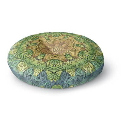 Art Love Passion Celtic Mandala Round Floor Pillow Size: 23 x 23