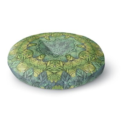 Art Love Passion Fairy Mandala Round Floor Pillow Size: 23 x 23