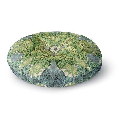 Art Love Passion Celtic Mandala Round Floor Pillow Size: 26 x 26