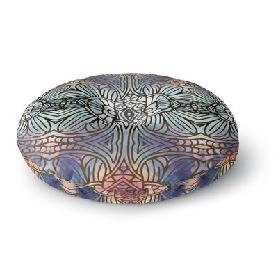 Art Love Passion Tiffany Digital Round Floor Pillow Size: 23 x 23