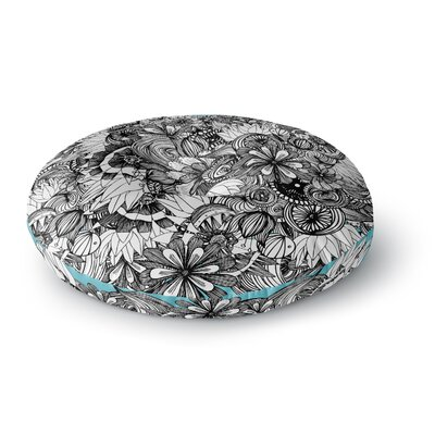 Anchobee Blumen Round Floor Pillow Size: 26 x 26