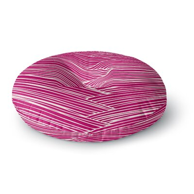 Anchobee Loom Round Floor Pillow Size: 26 x 26