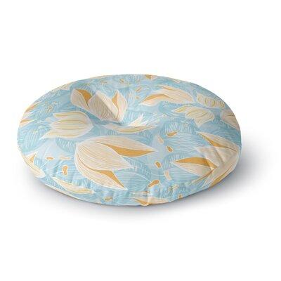 Anchobee Giallo Round Floor Pillow Size: 23 x 23
