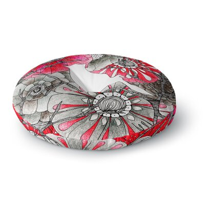 Anchobee Cardinal Round Floor Pillow Size: 26 x 26