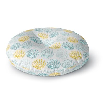 Anchobee Coralina Round Floor Pillow Size: 26 x 26