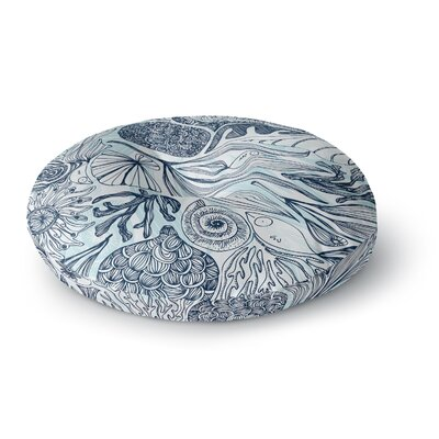 Anchobee Marina Round Floor Pillow Size: 23 x 23